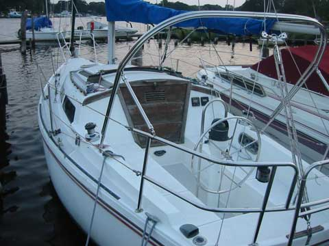 Catalina 27 tall rig, 1986 sailboat