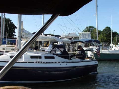 Canadian Sailcraft 27, 1978 sailboat