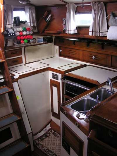 Cape Dory 40 Cutter 1986 Kemah Texas Sailboat For Sale