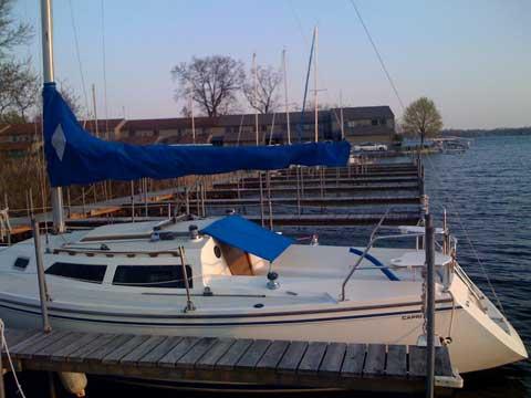 Catalina Capri 26 1991 Fort Wayne Indiana Sailboat For