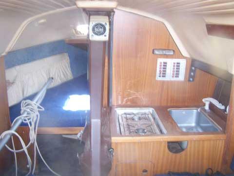 Delher 25, 1985 sailboat