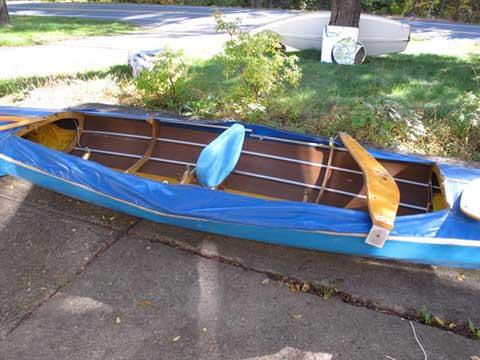 Folbot 17' folding kayak, 1970 sailboat