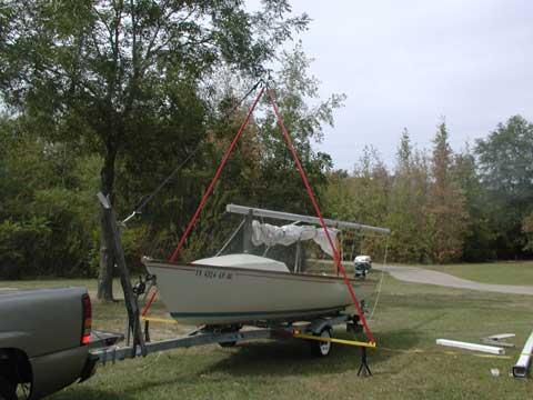 Boston Whaler Harpoon 5.2, 1981 sailboat