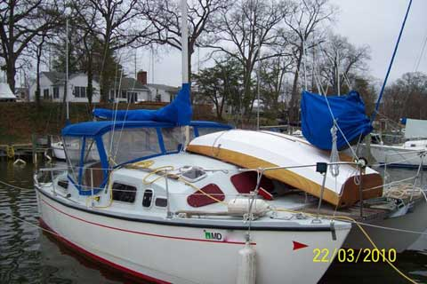 Heavenly Twins Catamaran, 26 ft., 1977 sailboat