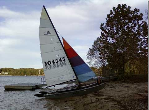 Hobie 16, 1981 sailboat