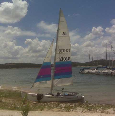 Hobie 18 Catamaran, 1986 sailboat