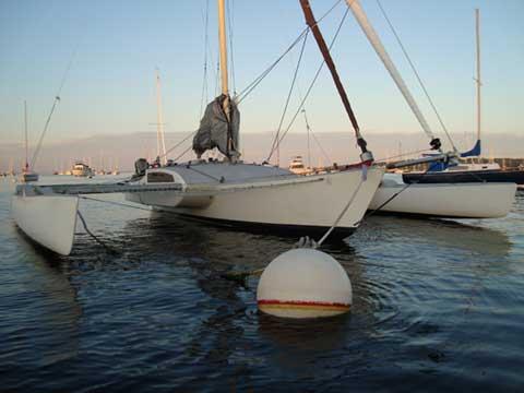 Kurt Hughes trimaran, 1987/2005, sailboat