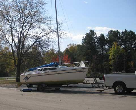 Hunter 23.5, 1996 sailboat