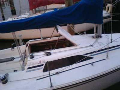 Hunter 26.5, 1988 sailboat