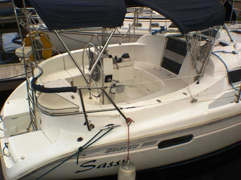 Hunter 336, 34' sailboat