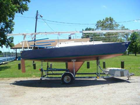 J24, 1980, Decatur, Illinois sailboat