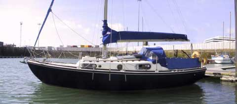 Macwester 26, Twin keel, 1970 sailboat