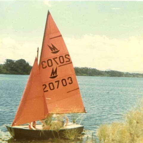 Mirror Dinghy, Western Pennsylvania sailboat