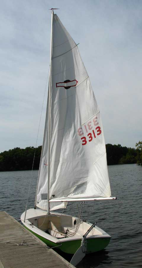 Used Sailboats For Sale >> Chrysler Mutineer 15, 1977, Bowie, Texas, sailboat for ...