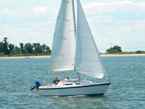 O'Day 23, 1978 sailboat