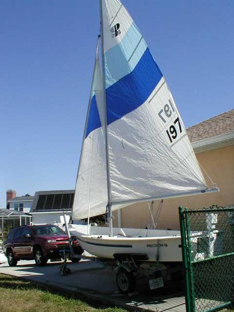 Precision 16, 1984 sailboat