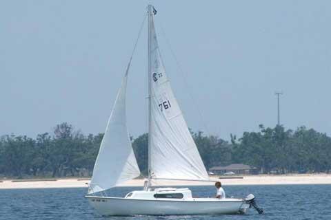 South Coast 22', 1975 sailboat
