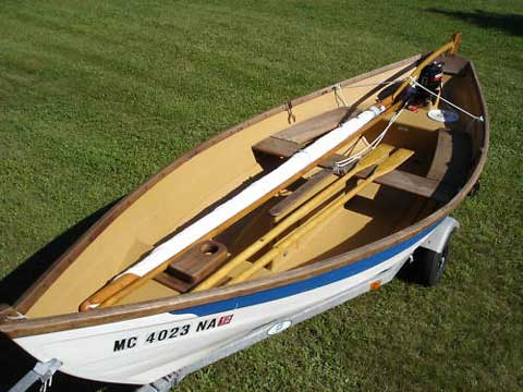 Crawford Swampscott Sailing Dory, 16' 1986, Adrian, Michigan, sailboat for sale from Sailing Texas