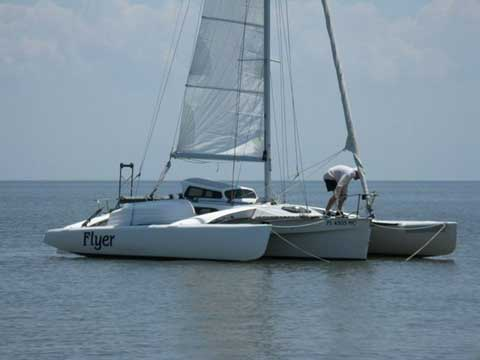 Corsair F-27 Trimaran, 1989 sailboat