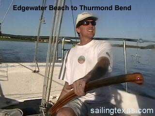 Catatlina 27 sailing Lake Travis video