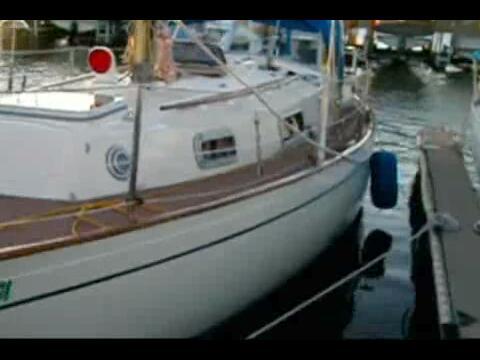 Cape Dory sailboat VIDEO, click to start