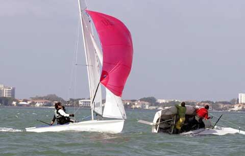 Ziegelmeyer International 470 sailboat