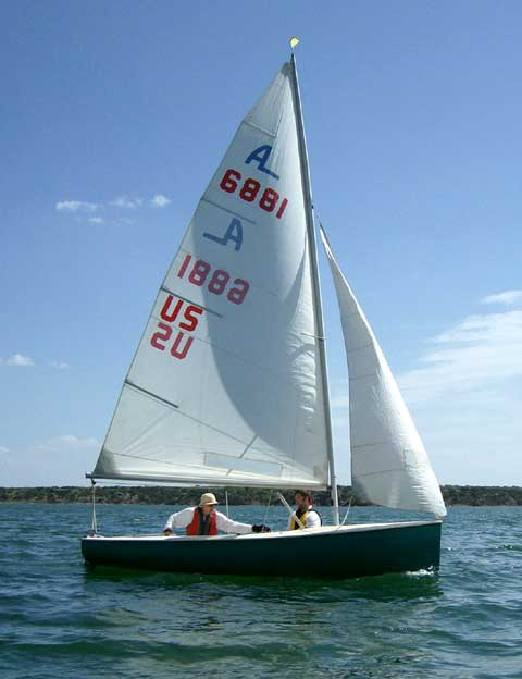 Albacore 15 sailboat