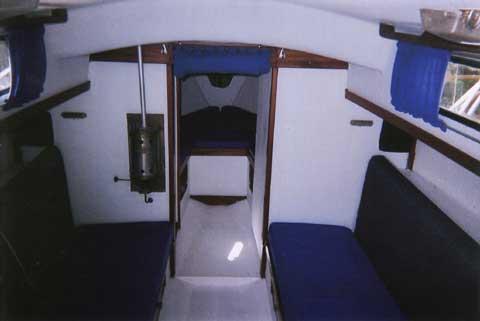 Albin Vega, 27 ft., 1976 sailboat