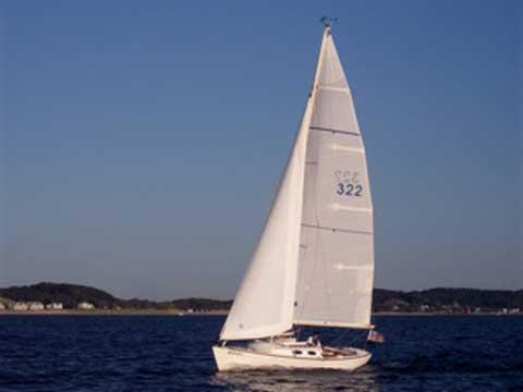Alerion Express 28 sailboat