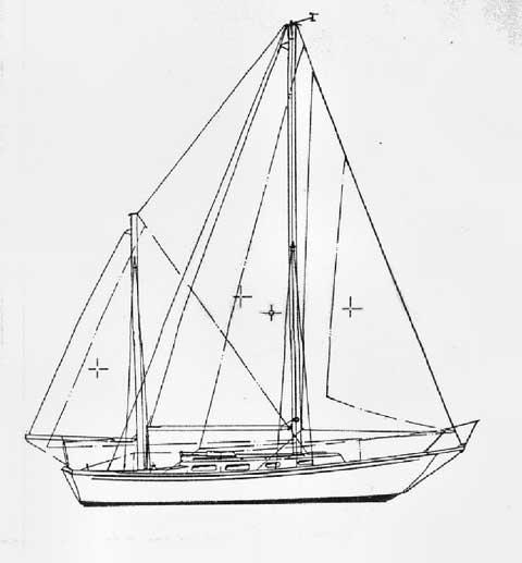 Allied Seawind II sailboat
