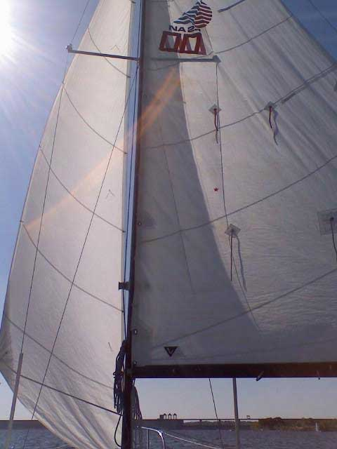 American Spirit 23 sailboat