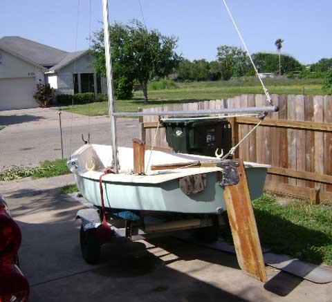 AMF Alcort Puffer, 1979 sailboat