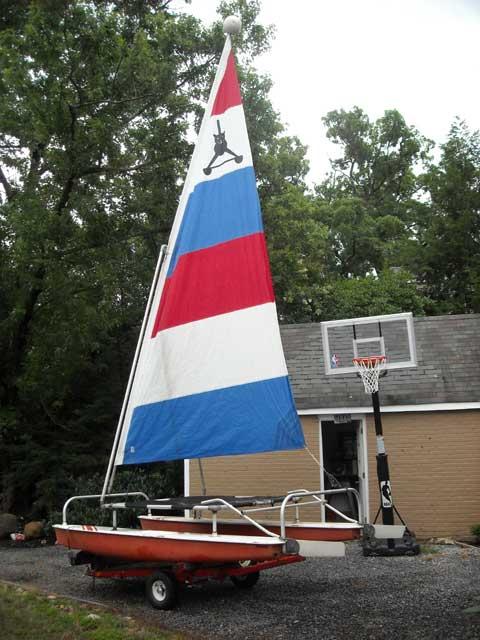 Aquacat catamaran sailboat