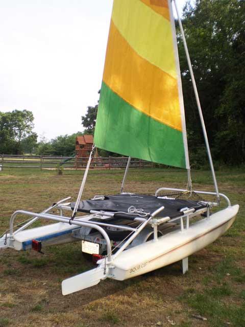 Aquacat 12.5, 2006 sailboat