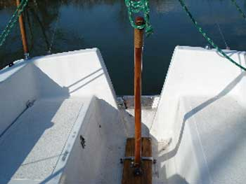Aquarius 23 foot sailboat