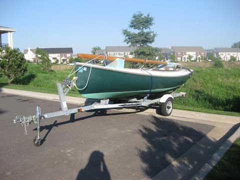 Arey's Pond Boat Yard Cat Boat sailboat