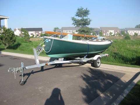 Arey's Pond Boat Yard Cat Boat sailboat