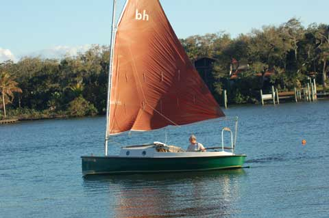 Bay Hen 21', 1986 sailboat