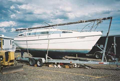 Bayliner Buccaneer Model 285 27 ft., 1978 sailboat
