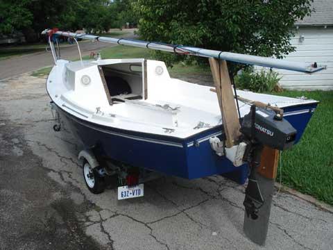 Baymaster 18 sailboat