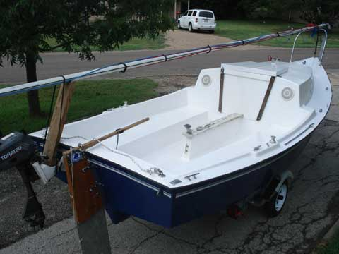 Baymaster 18 sailboat