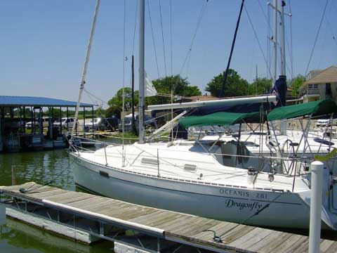 Beneteau 281 Oceanis, 1996 sailboat