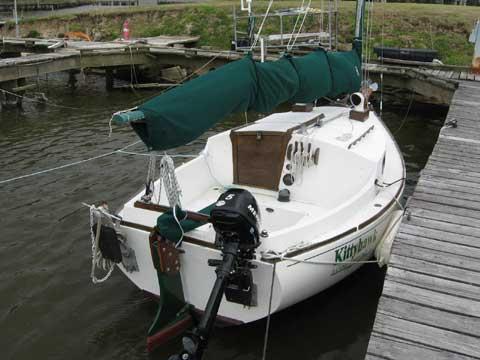 BlackWatch Catboat, 1988 sailboat