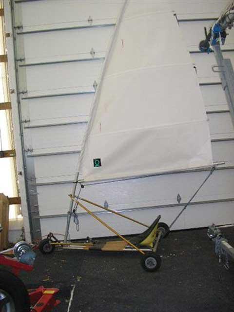 Blokart Land/Ice sailer