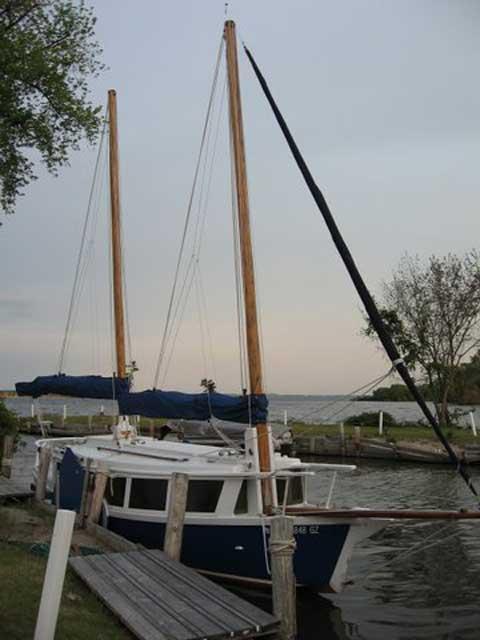 Bolger 26  sailboat