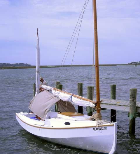 Bolger Chebacco 20 sailboat