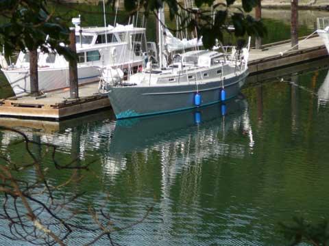 Brewer Custom Aluminum sailboat