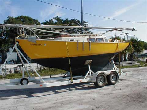 Bristol 24 sailboat