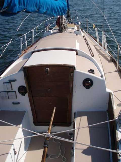 Bristol 32 sailboat