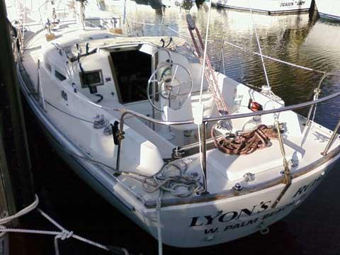 Bristol 34 yacht